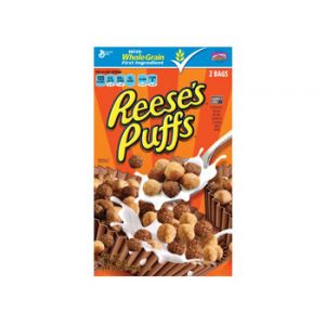 General Mills Reese's Peanut Butter Puffs Cereal Value Pack - 49.5 oz