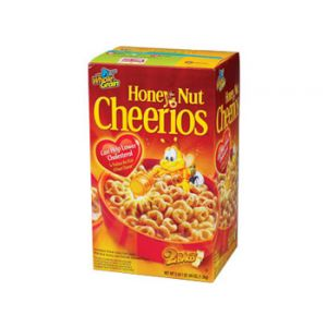 General Mills Honey Nut Cheerios Value Pack - 55 oz