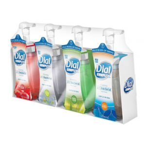Dial Antibacterial Foaming Hand Soap 7.5 oz - 4 Pack