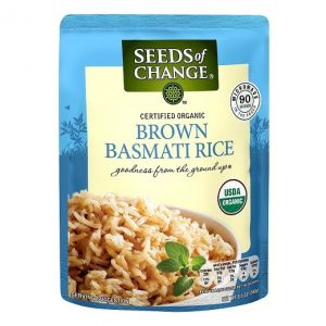 Seeds of Change. Brown Basmati  Rice. 8.5 OZ / 6 PK
