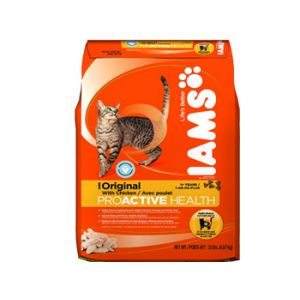Iams Orginal Dry Cat Food 20 lbs.