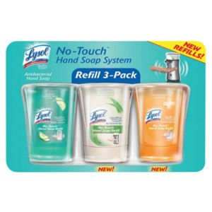 Lysol No Touch Hand Soap Refill Value Pack - 3/8.5oz