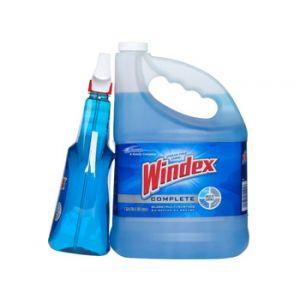 Windex Trigger Spray W/ 128oz Refill