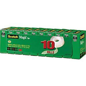 Scotch 810 Magic Tape Refill 10pk