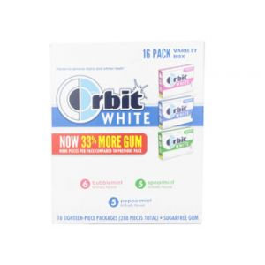 Orbit White Variety Pack 16 ct