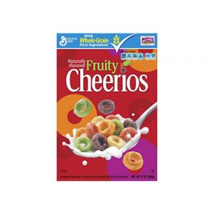 Cheerios Fruity Cereal 12 oz
