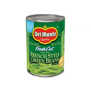 Del Monte French Style Fresh Cut Green Beans 14.5 oz