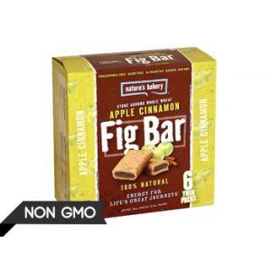 Nature's Bakery Apple Cinnamon Fig Bar - 6 ct
