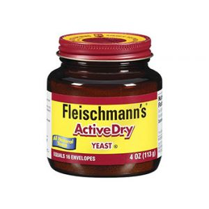Fleischmann's Active Dry Yeast 4 oz