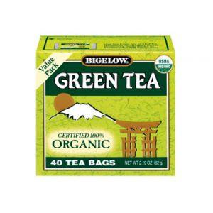 Bigelow Organic Green Tea Value Pack 40 ct