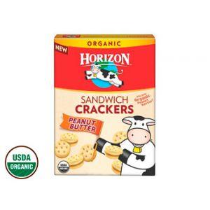 Horizon Peanut Butter Sandwich Cracker 7.5 oz