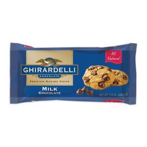 Ghirardelli Milk Chocolate Premium Baking Chips 11.5 oz