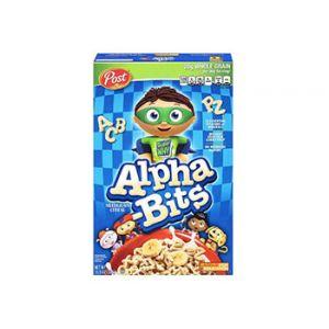 Post Alpha Bits Multigrain Cereal 11.5 oz