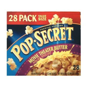 Pop Secret Movie Theater Butter Popcorn 28 Pack