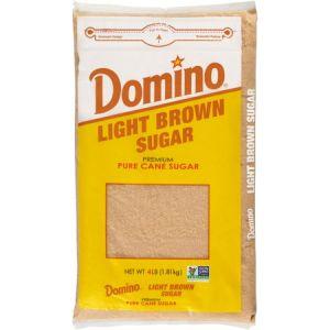 Domino Sugar Light Brown Cane 4 lb