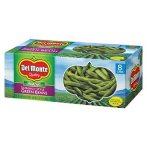 Del Monte French Green Beans 14.5 oz - 8 Pack