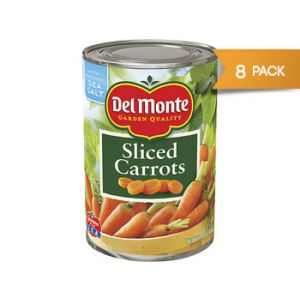 Del Monte Sliced Carrots 14.5z - 8 Pack