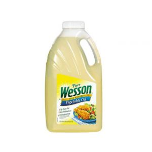 Wesson Vegetable Oil 5 Quart