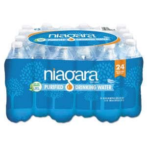 NIAGARA PURIFIED DRINKING WATER 24/16.9 OZ     Minimun 200 cases