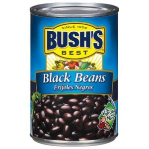 Bush's Best Black Beans 15 oz - 6 Pack