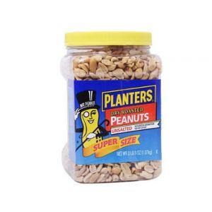 Planters Dry Roast Unsalted Peanuts 38oz