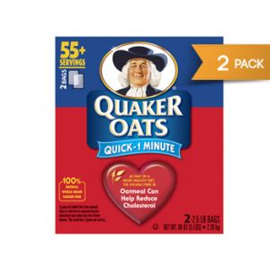 Quaker Quick Oats Twin Pk 2/2.5lb