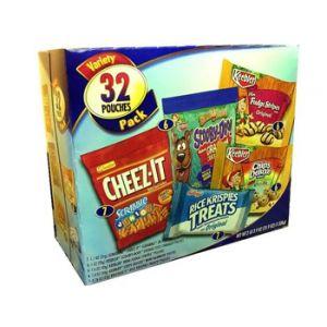 Keebler Cookie / Cracker Variety Pack 32ct