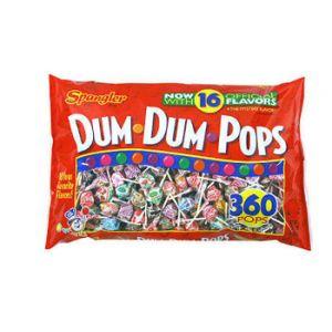 Spangler Dum Dum Pops 360 ct