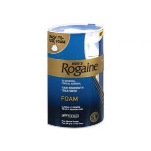Rogaine Men's Hair Regrowth Foam 5% Mioxidil
