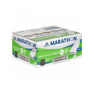 Marathon Multifold Towels 2-Ply 150 Sheet / 20 Pack.