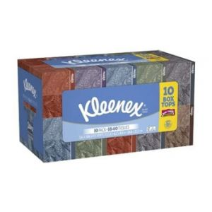 10 Pack - Kleenex Facial Tissue 2 Ply 160 ct