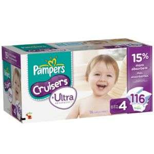 Pampers Cruisers Ultra Size 4 108ct