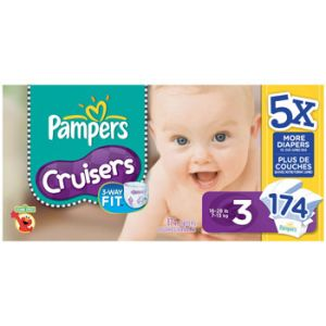 Pampers Cruiser Diapers Size 3 152ct