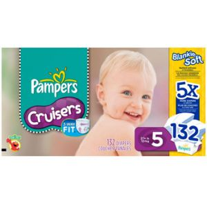 Pampers Cruiser Diapers Size 5 132 Count