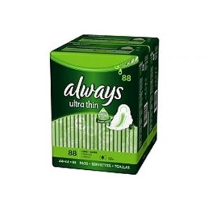 Always Ultra Thin Super W/wings 88ct
