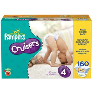 Pampers Cruisers Size 4 136 ct