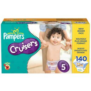 Pampers Cruisers Size 5 140 ct