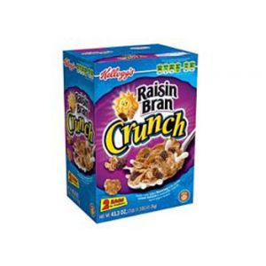 Kellogg's Raisin Bran Crunch Value Pack - 43.3 oz