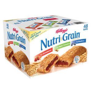 Kelloggs Nutri Grain Bars - 36 Pack