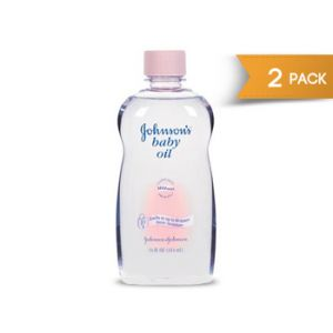 2-Pack Johnson's Baby Oil 20 oz.