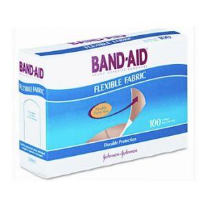 Johnson & Johnson Band-aid Flexible Fabric 100 ct