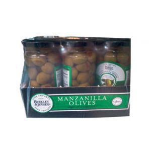 Berkley & Jensen Stuffed Manzanilla Olives 6PK 5 OZ