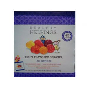 Healthy Helping Fruit Snacks 45 ct
