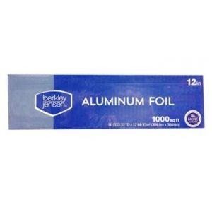 Berkley & Jensen Aluminum Foil 12 1000 Square Feet