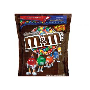 M&m Plain Bag 56 oz