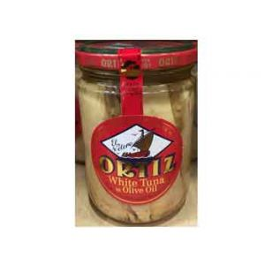 ORTIZ WHITE TUNA IN OLIVE OIL 14.11 OZ