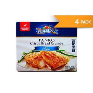 Progresso. Panko Crispy Bread Crumbs. 8 OZ / 4 PK