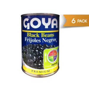Goya Black Beans 15.5 oz - 8 Pack