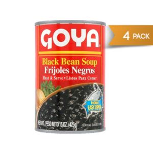 Goya Black Bean Soup 15 oz - 4 Pack