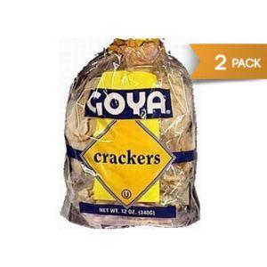 Goya Crackers 12 oz - 2 Pack